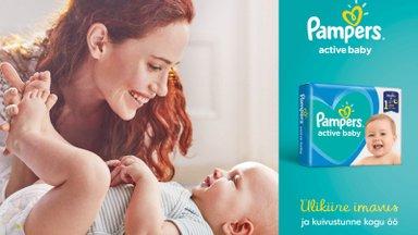 Su kallis beebi väärib parimat – leia õiged Pampersi tooted vastavalt oma beebi vajadustele