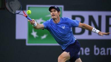 Andy Murray leidis abielusõrmuse ja mänguvormi