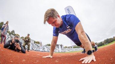GALERII | Kaitsevägi ja EOK tähistasid spordinädalat NATO testiga