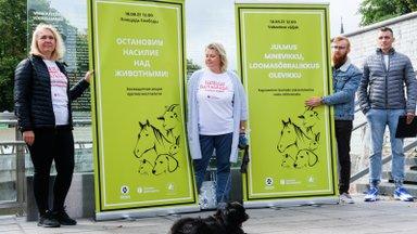 """Loomasõbrad kuulutasid kampaaniaga """"Julmus minevikku, loomasõbralikkus olevikku"""" 2022. aasta loomade väärkohtlemise vastaseks aastaks"""