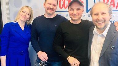 """ВИДЕО: Ведущие """"Русского Радио"""" танцуют под """"Песни Общей Эстонии""""!"""
