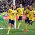 Rootsi jalgpallur tänas pallitüdrukut: ta aitas meil võita