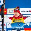 Venelased raputasid Kläbo Tour de Ski lõputõusul maha, Bolšunovile karjääri esimene tuurivõit