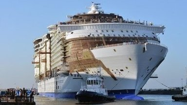 Põnev timelapse VIDEO: Vaata, kuidas ehitati maailma suurimat kruiisilaeva!