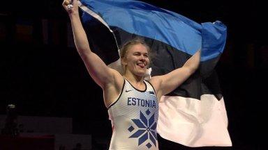 Эпп Мяэ впервые стала серебряным призером чемпионата мира