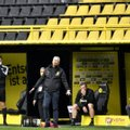 Dortmundi peatreener: tunneme fännidest tohutult puudust