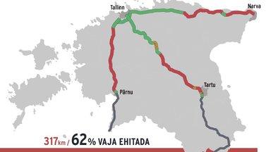 Neljarajalised maanteed säästaksid igal aastal sajandeid eestlaste aega