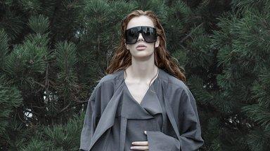 Stiilsed üksikeksemplarid: Eve Hanson esitleb kangajääkidest valminud erilisi rõivaid