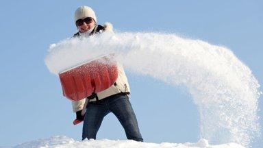 Kas lume rookimine on võrdne trenniga?