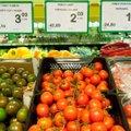 GRAAFIK   Vaata, kui palju maksis toit enne krooni ja kui palju on hinnad tõusnud tänaseks?