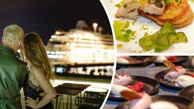 ФОТО   Вид на закат, рассвет и корабли. На популярном столичном променаде торжественно открылся ресторан OCEAN 11