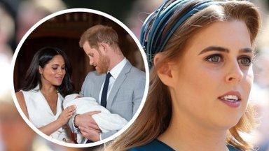 Segadus kuningakojas: miks printsess Beatrice'i vastsündinud tütar saab tiitli, aga Harry lapsed ei saanud?
