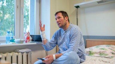 """Vaktsineerimata mehe võitlus haiglas: """"Pumpasin allesjäänud kopsuosaga nii palju, kui jaksasin"""""""