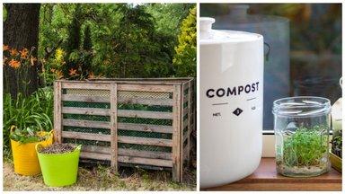 Kompostimisest aias ja toas ning mida võib komposti panna, mida mitte