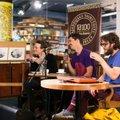 FOTOD: Taani menubänd Efterklang kohtus enne õhtust kontserti Viru keskuses fännidega!
