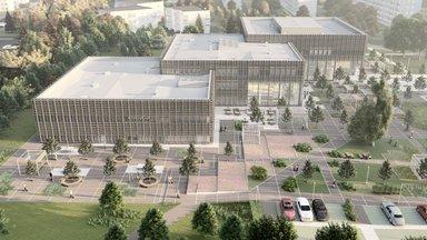 FOTO | Hoonemürakas. Kuulutati välja hange Pelgulinna riigigümnaasiumi ehitustöödeks