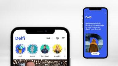 Uus võimalus Delfi avalehel: püsi uudiste ja lugudega kursis story'de abil!