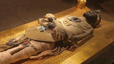 Egiptusest leiti kuldse keelega muumia