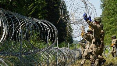 ERISAADE | Otse Leedu piirilt: esmalt võivad piirületajad olla agressiivsed, sest kardavad Valgevene võime