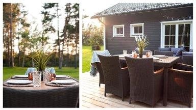 """""""Мой дом летом""""   Терраса, где так приятно наслаждаться летними вечерами"""