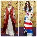 FOTOD | Tagasivaade ajalukku ja poolikuks jäänud maal: kõige silmapaistvamad riietused Emmyde punasel vaibal