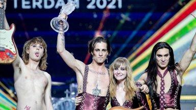 Eurovisioni võitnud Itaalia ansambel Måneskin esineb Tallinnas