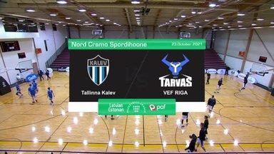 TÄISPIKKUSES | Korvpall: Tallinna Kalev - Riia VEF