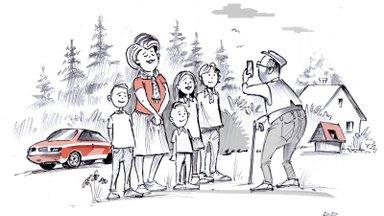 Hiljuti Timber.ee keskkonnas toimunud metsaoksjon muudab ühe 4-lapselise pere elu