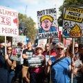 Tuhanded tulid Londoni tänavatele valitsuse tegevuse vastu protesti avaldama