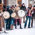 VIDEO JA FOTOD: Trummid, laulud, palved ehk Eesti rahumeelne toetusavaldus puhtale loodusele ja põlisrahvaste õigustele