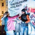 FOTOD | 40-kordse ultratriatloni läbinud Rait Ratasepp võeti Tartus pidulikult vastu