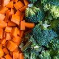 RETSEPT   Nüüd tahaks kergemat õhtusööki? Mee-küüslaugukastmes kanakintsud brokoli ja porgandiga