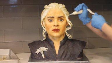 VIDEO | Troonide maius! Just nii saad teha maitsva Daenerys Targaryeni kujulise koogi