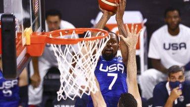 USA korvpallikoondis taastus kahest ajaloolisest kaotusest ja teenis võidu Argentina üle