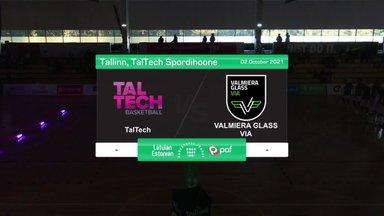 TÄISPIKKUSES | Korvpall: TalTech - Valmiera Glass Via