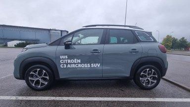 Uuenenud Citroën C3 Aircross on kohal