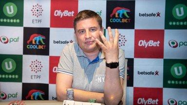 Vanameister Veiko Aava tuli neljandat korda Eesti pokkerimeistriks