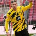 Dortmund lajatas suveks Haalandile vinge hinnasildi, ManCity esiründaja lahkumine lööb turu kihama