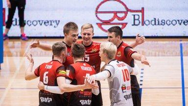 Läti võrkpalliklubide mängud kolivad eriolukorra tõttu esialgu Eestisse