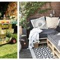 TEE ISE   12 lahedat ideed, kuidas aias kaubaaluseid kasutada