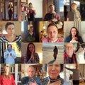 VIDEO   Linnateatri näitlejad tegid meditsiinitöötajatele imearmsa kummarduse: te olete kindlasti väga väsinud