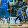 VIDEO ja FOTOD: Kalev/Cramo purustas liidrite mängus Rapla 27 punktiga. Vaata tipphetki!