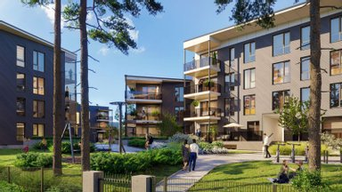ФОТО   В Нымме построят новый жилой комплекс из трех квартирных домов