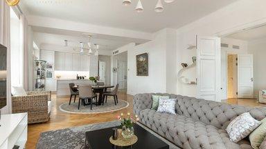 ГАЛЕРЕЯ | Глаз не оторвать! Величественная квартира в Старом городе очаровывает чудесными видами и элегантным дизайном интерьера