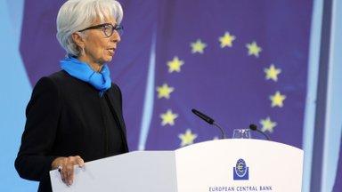 Euroopa Keskpanka inflatsioon ei hirmuta: rahatrükk jääb paika
