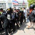 Tai valitsus alustas protestijate minemaajamist hõivatud aladelt