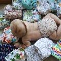 Keegi ei rääkinud, pidin ise avastama: riidest beebimähkmetega hoiab kokku tuhat eurot ning need on nii nunnud!