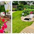 """""""Мой дом летом""""   Сад, где старые вещи обретают новую яркую жизнь"""