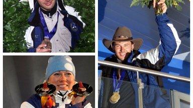 EV100 nädalat   Eesti rõõmustab oma olümpiasangarite üle! Vaata, kuidas võitsid medaleid Andrus Veerpalu, Kristina Šmigun ja Jaak Mae