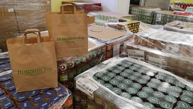 Toidupanka jõudis Headuseringi kaudu 60 000 eurone toidusaadetis